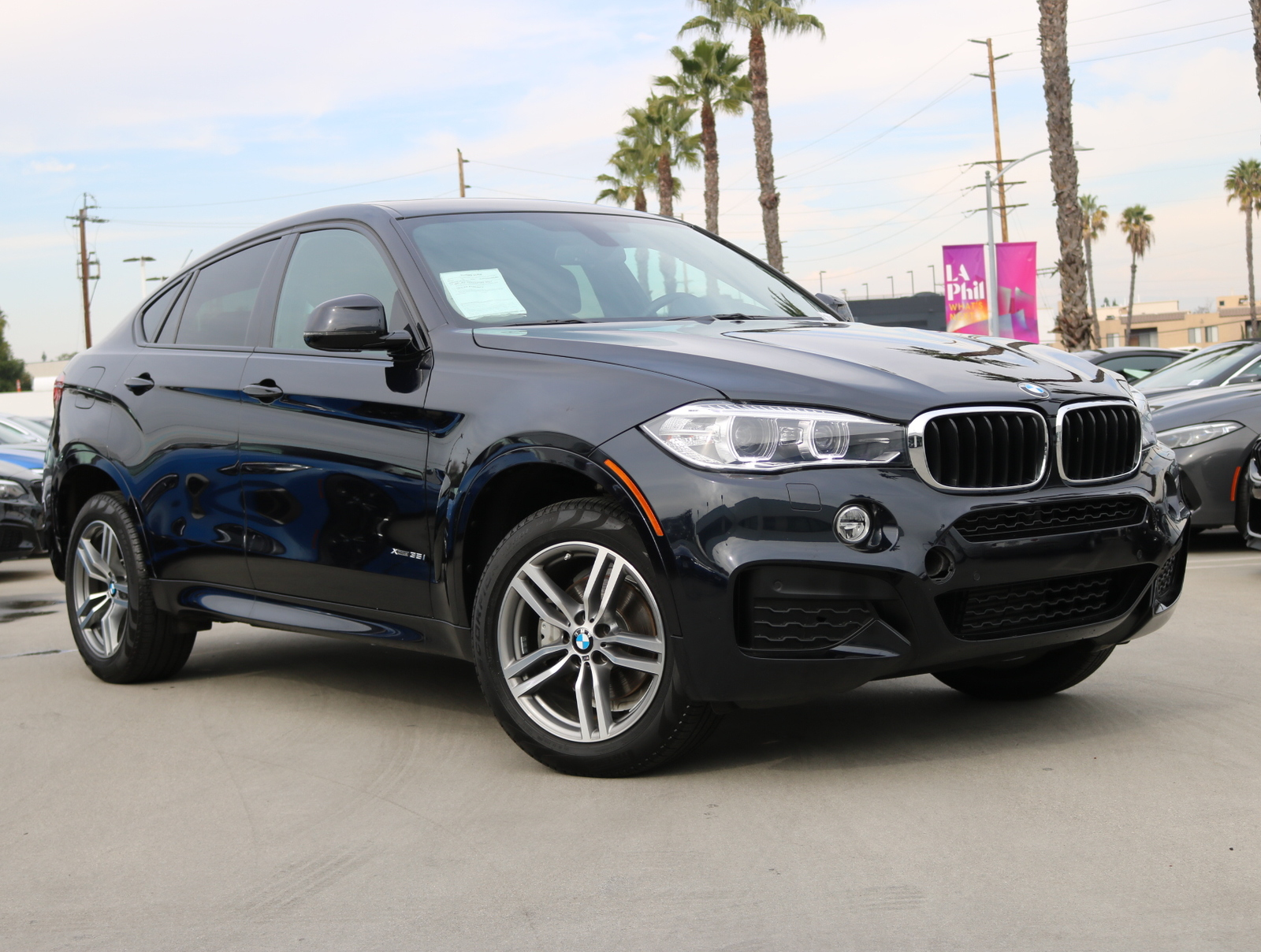 Certified Pre-Owned 2016 BMW X6 xDrive35i Sport Utility 4D