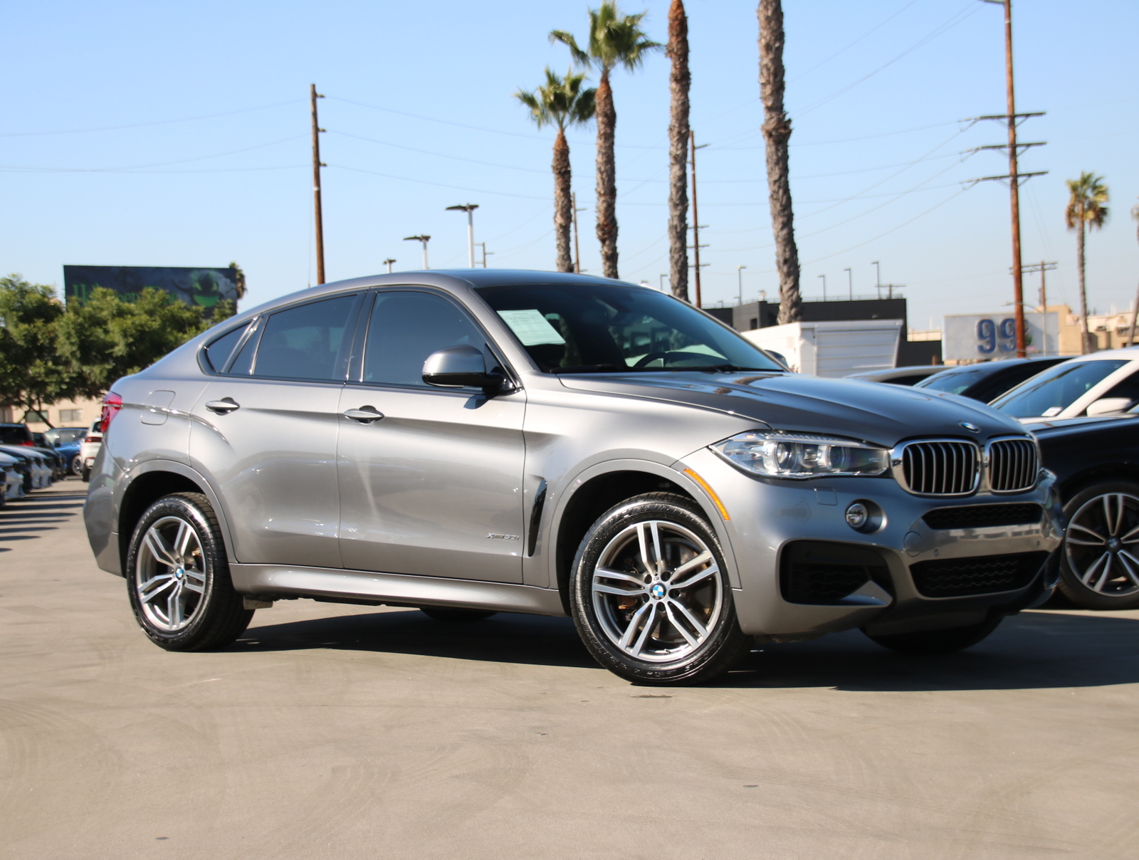 Certified Pre-Owned 2016 BMW X6 xDrive50i Sport Utility 4D