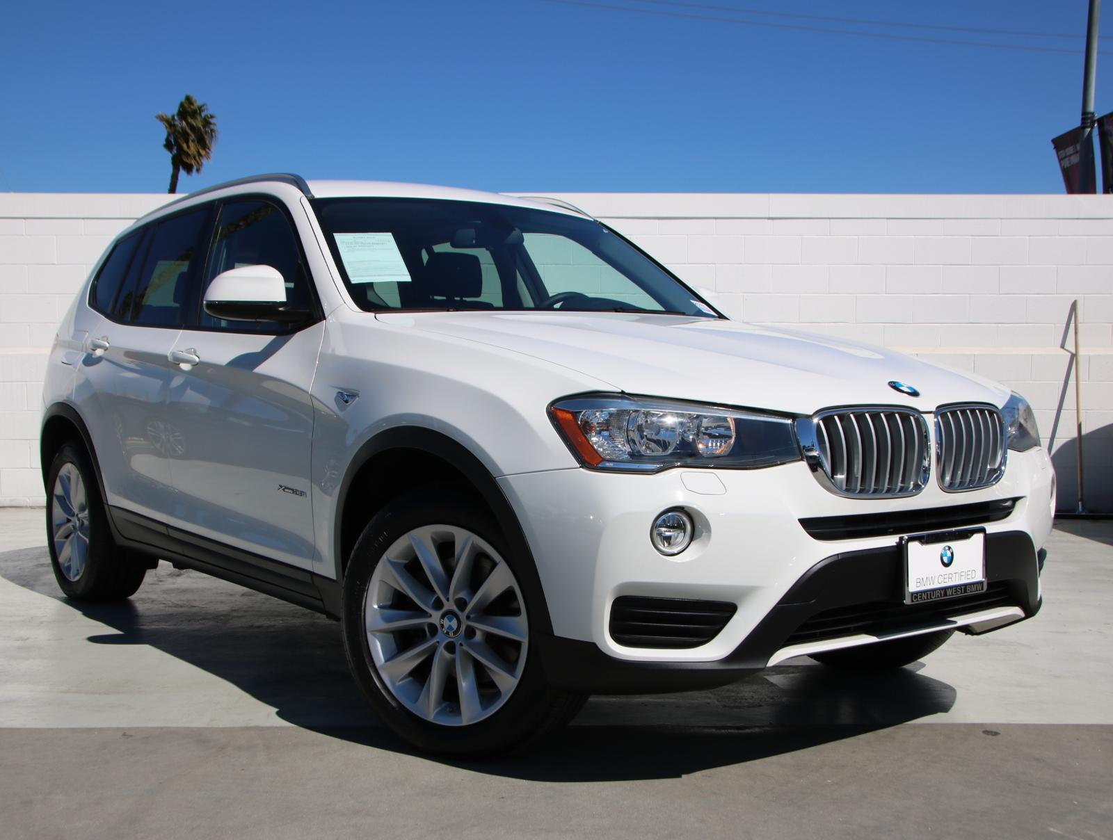 Bmw Pre Owned >> Certified Pre Owned 2016 Bmw X3 Xdrive28i Awd 4dr Xdrive28i In North