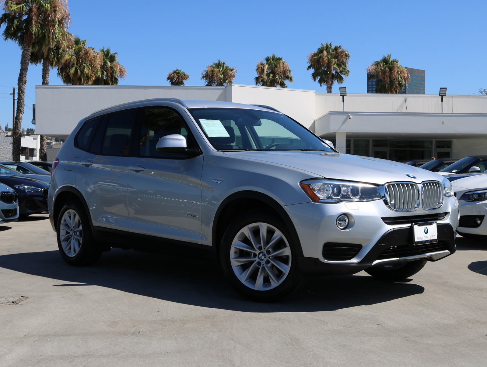 Bmw Certified Pre Owned >> Certified Pre Owned 2017 Bmw X3 Xdrive28i Sport Utility 4d Awd
