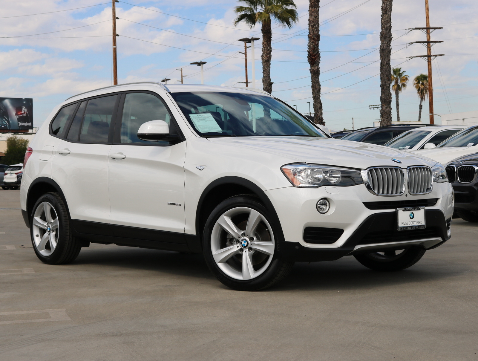 Certified Pre-Owned 2017 BMW X3 sDrive28i Sport Utility 4D