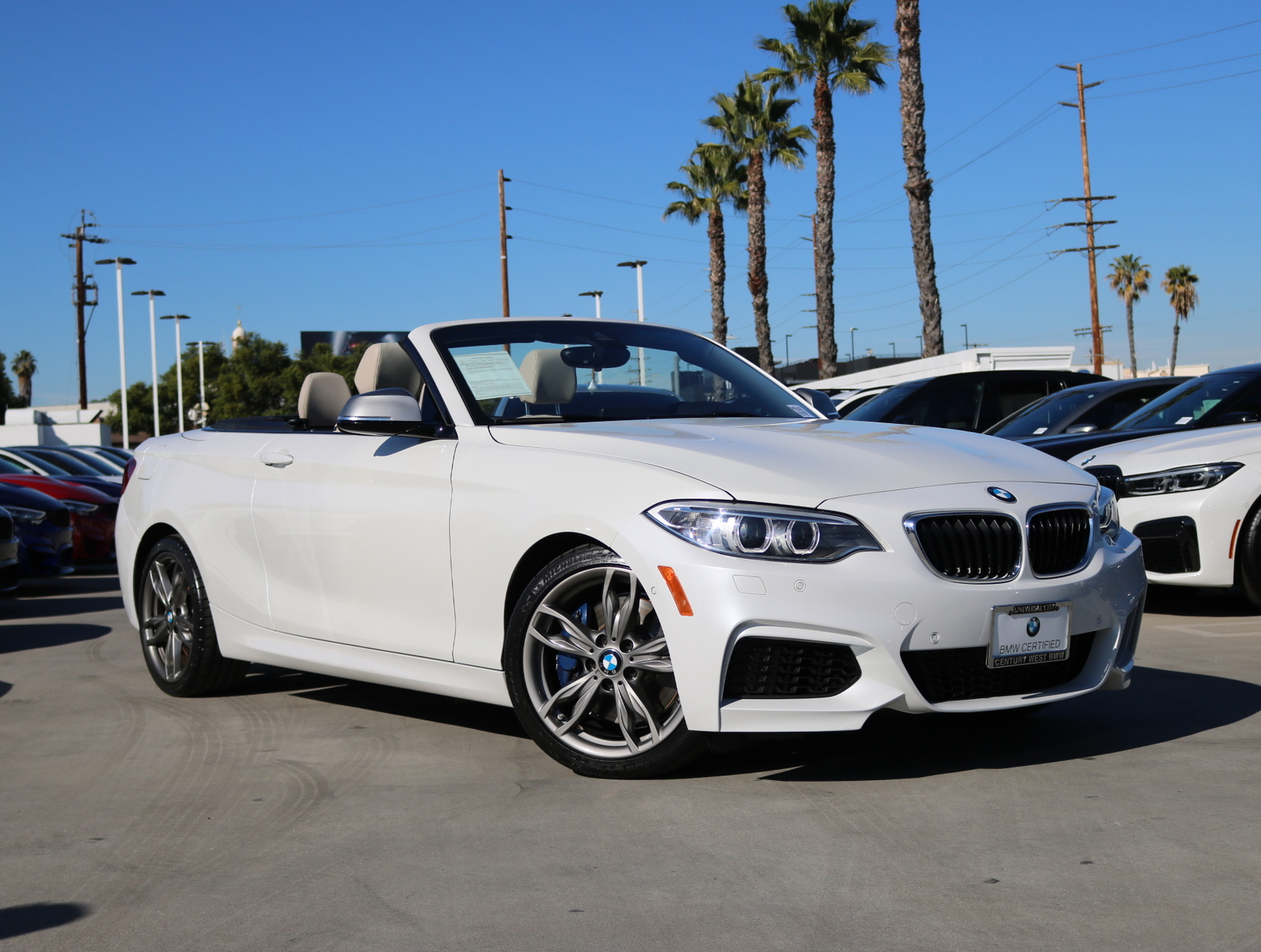 Certified Pre-Owned 2016 BMW 2 Series M235i Convertible 2D