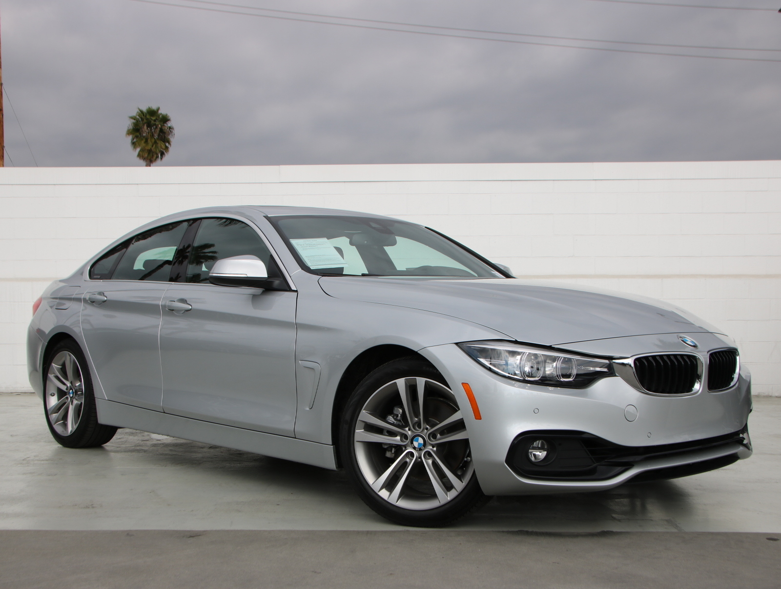 Pre-Owned 2019 BMW 4 Series 430i Rear Wheel Drive 430i Gran Coupe