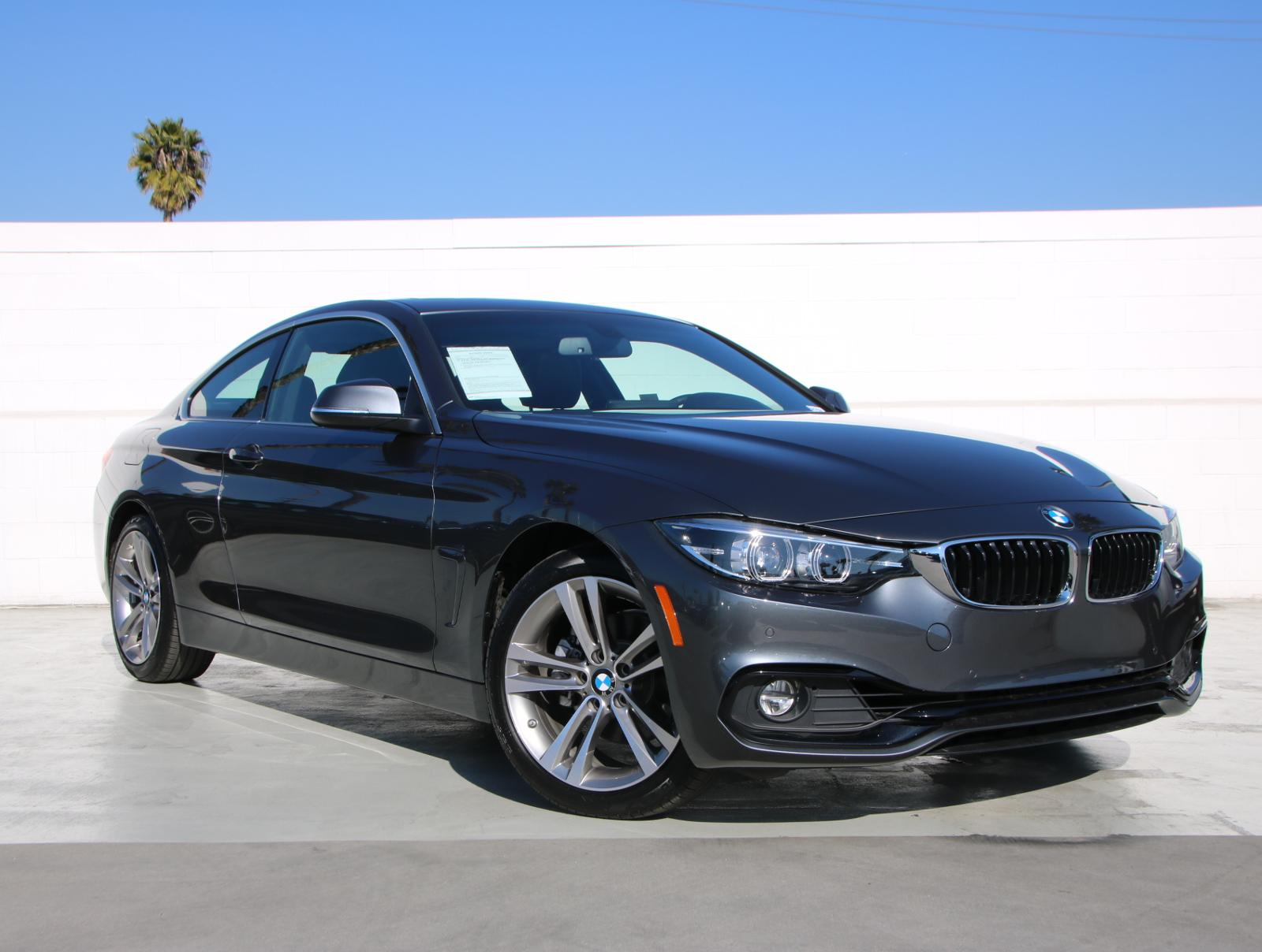 Pre-Owned 2019 BMW 4 Series 430i Rear Wheel Drive 430i Coupe