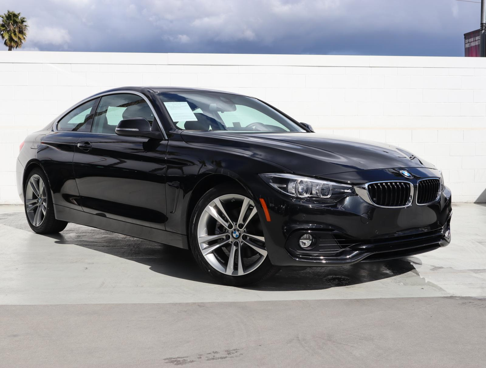 Pre-Owned 2019 BMW 4 Series 430i Coupe 2D RWD 2dr Car