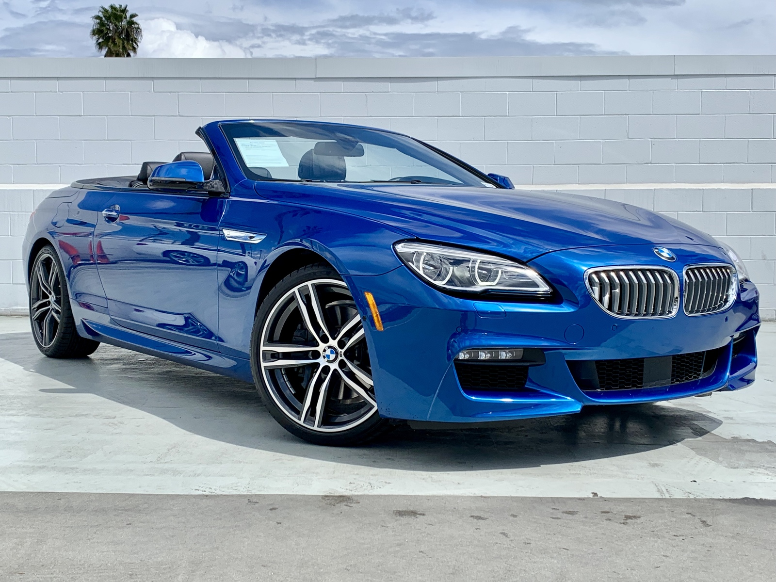 Pre-Owned 2018 BMW 6 Series 650i Rear Wheel Drive 650i Convertible