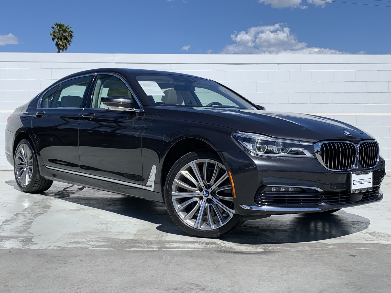 Certified Pre Owned 2016 Bmw 7 Series 750i Xdrive