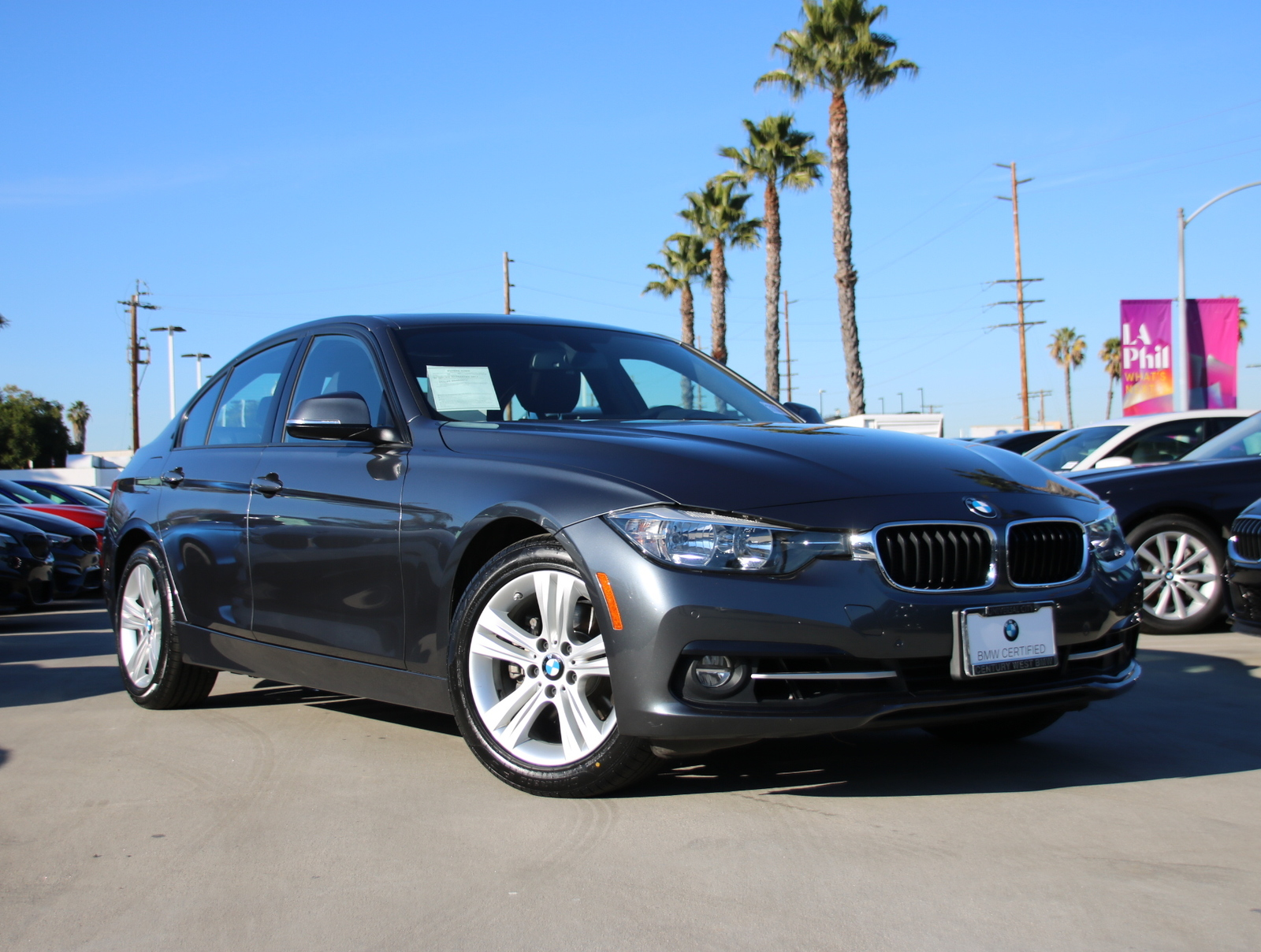 Certified Pre-Owned 2016 BMW 3 Series 328i Sedan 4D