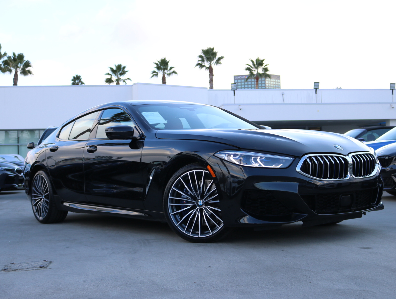 Pre-Owned 2020 BMW 8 Series Individual Piano Black trim