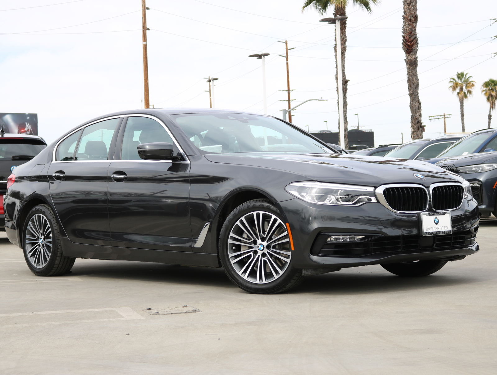 Certified Pre-Owned 2017 BMW 5 Series 540i Sedan 4D