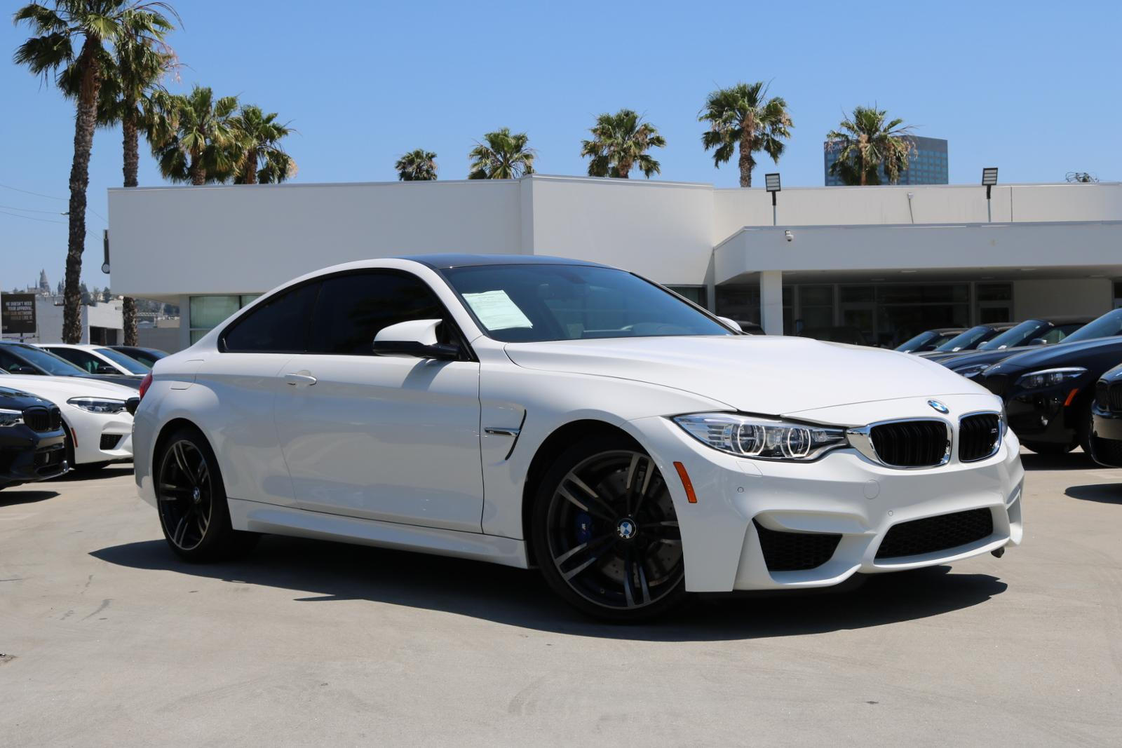 Bmw M4 Coupe >> Certified Pre Owned 2016 Bmw M4 Coupe 2d Rwd