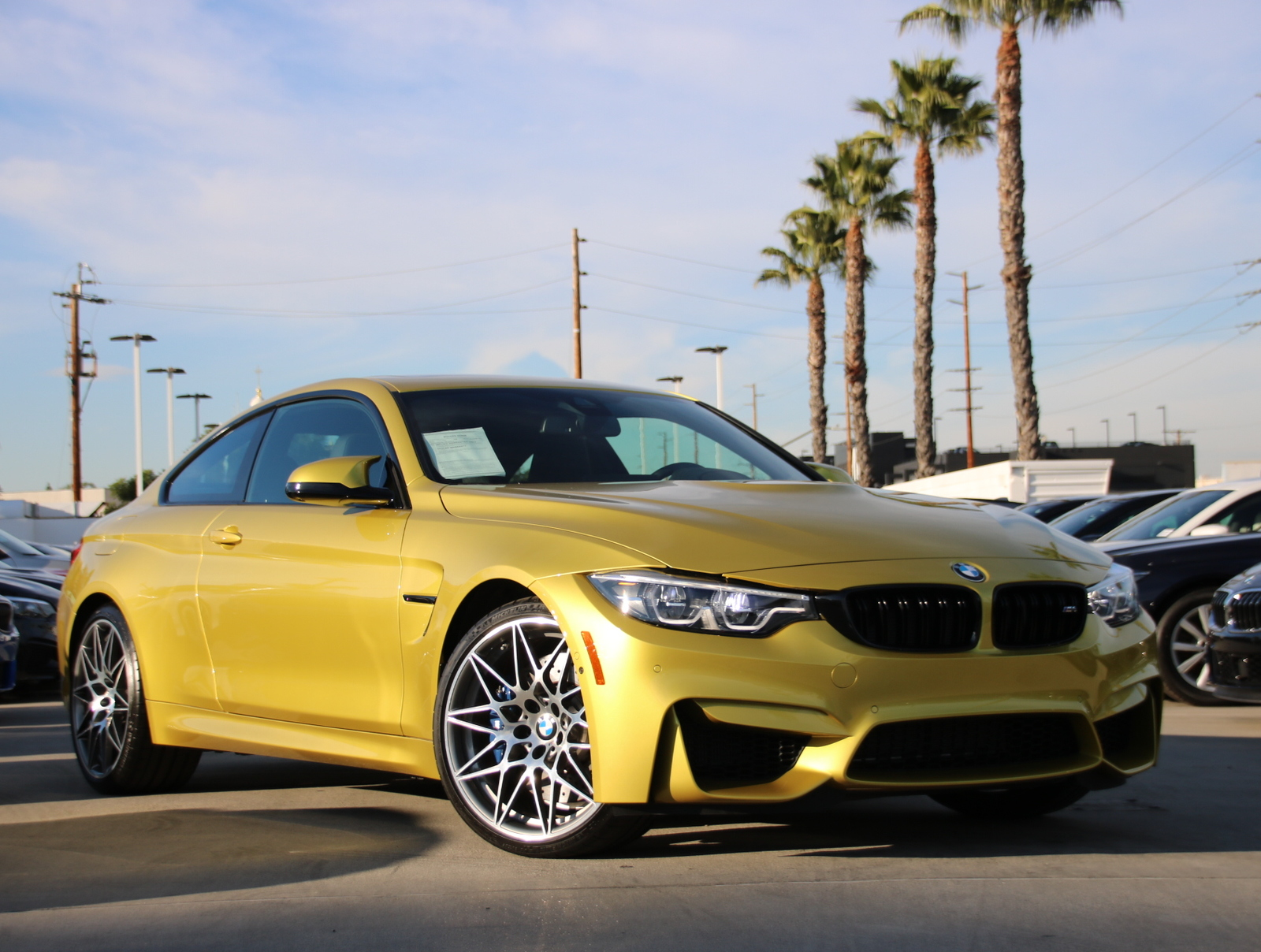 Pre-Owned 2018 BMW M4 Coupe 2D