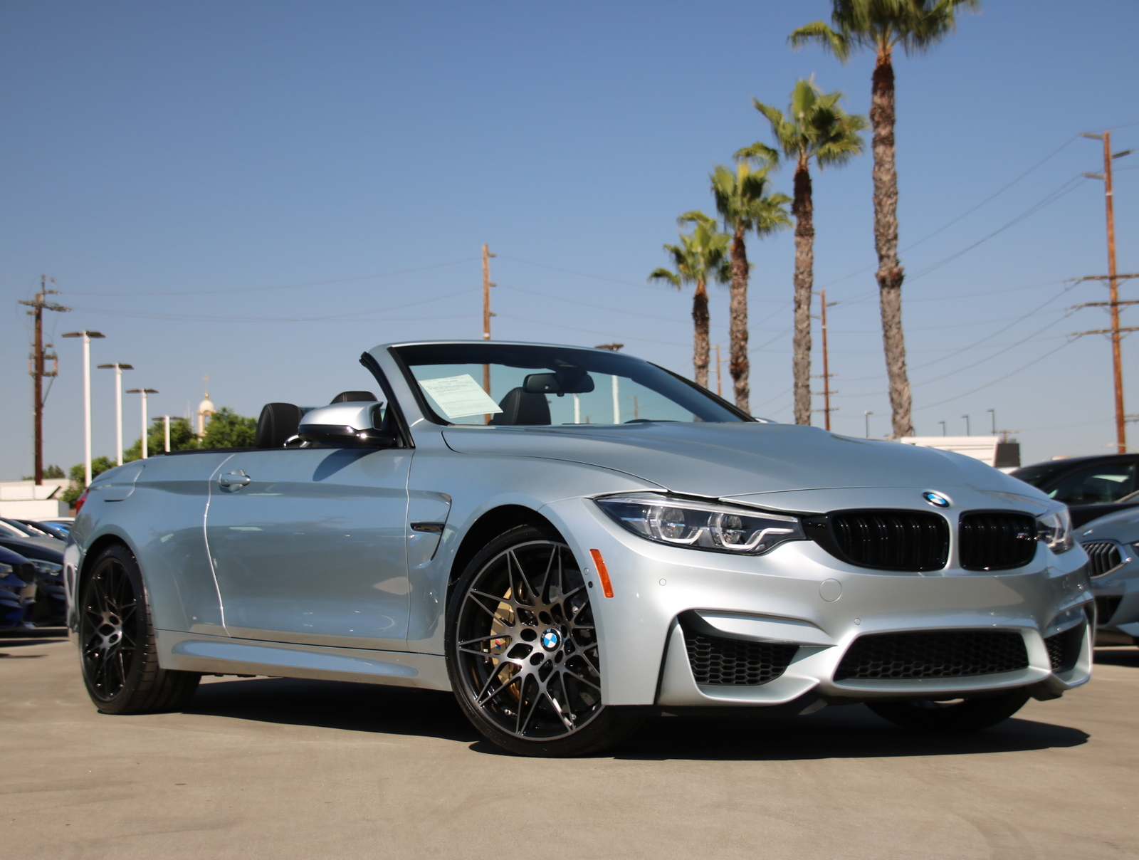 Pre-Owned 2018 BMW M4 Convertible 2D