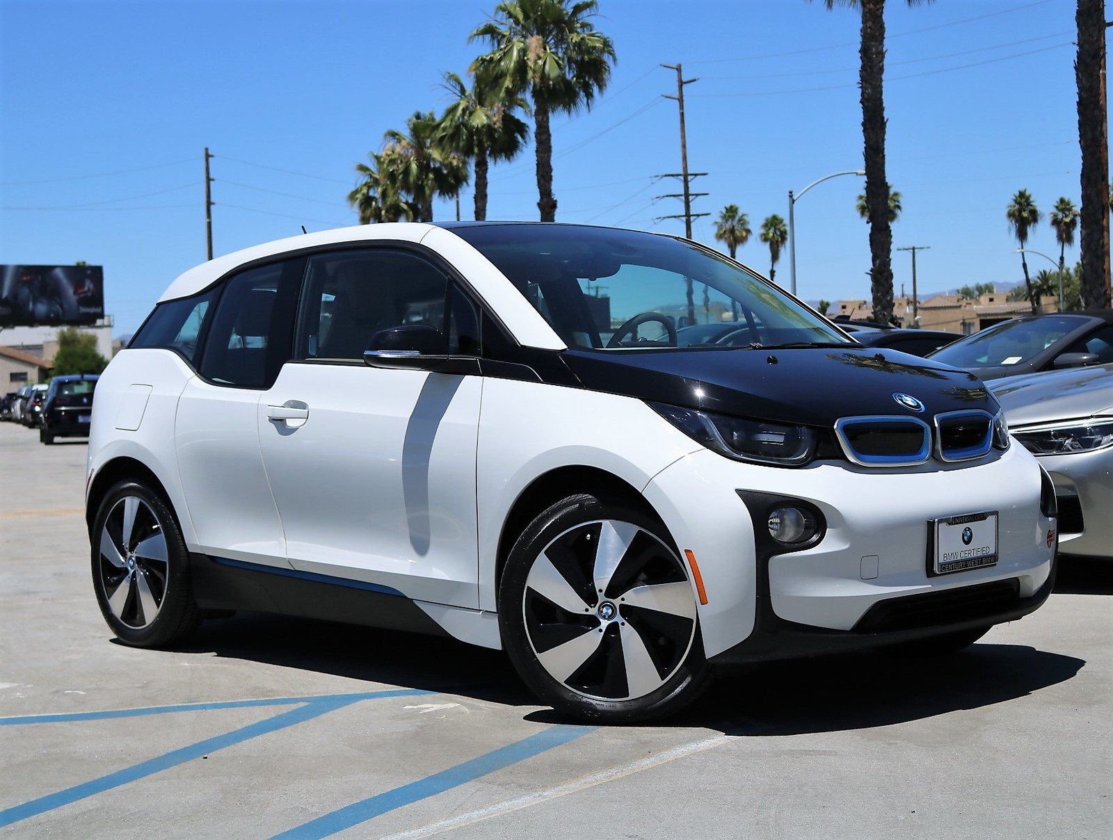 Certified Pre-Owned 2017 BMW i3 Hatchback 4D