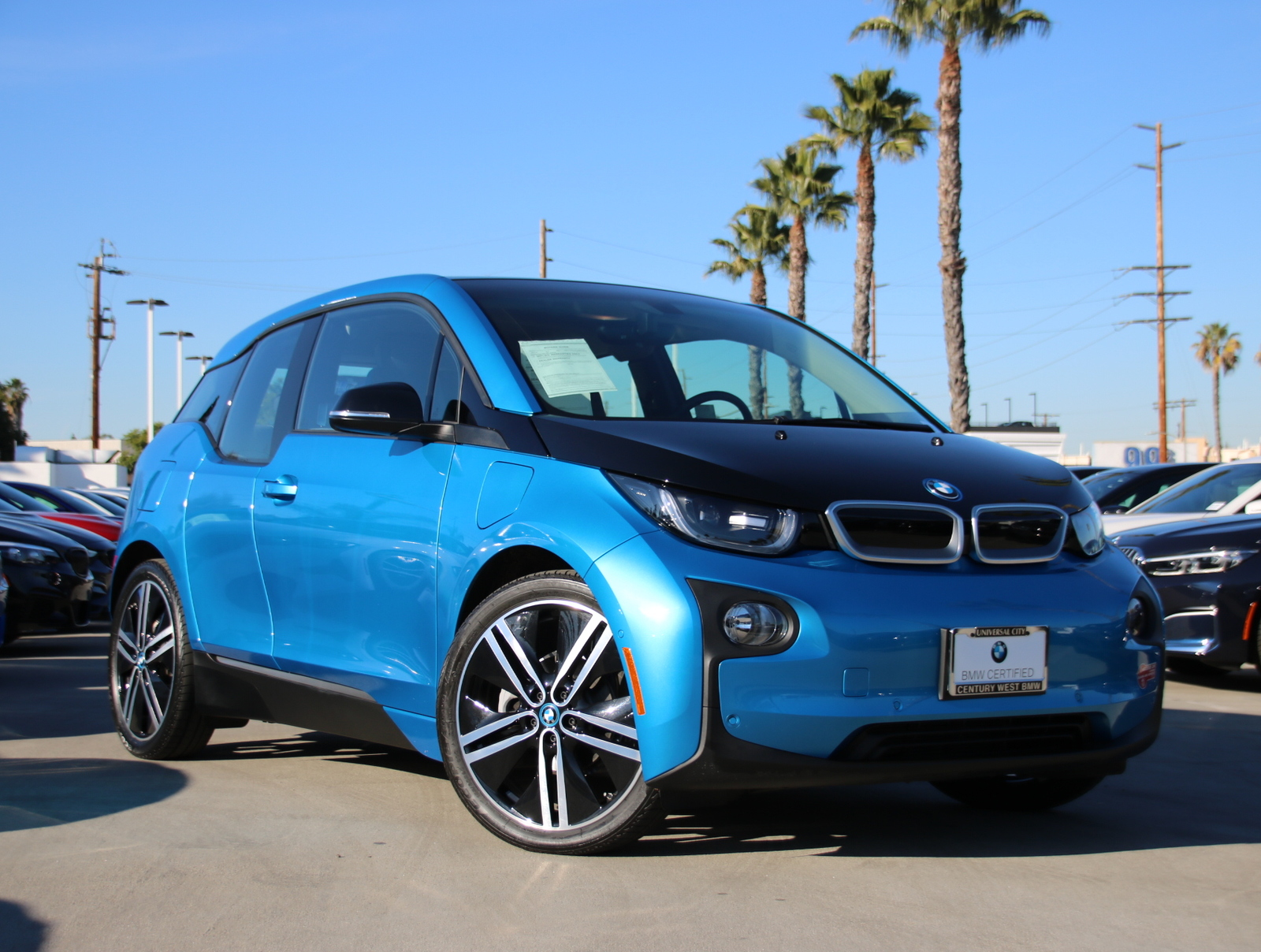 Certified Pre-Owned 2017 BMW i3 Range Extender Hatchback 4D