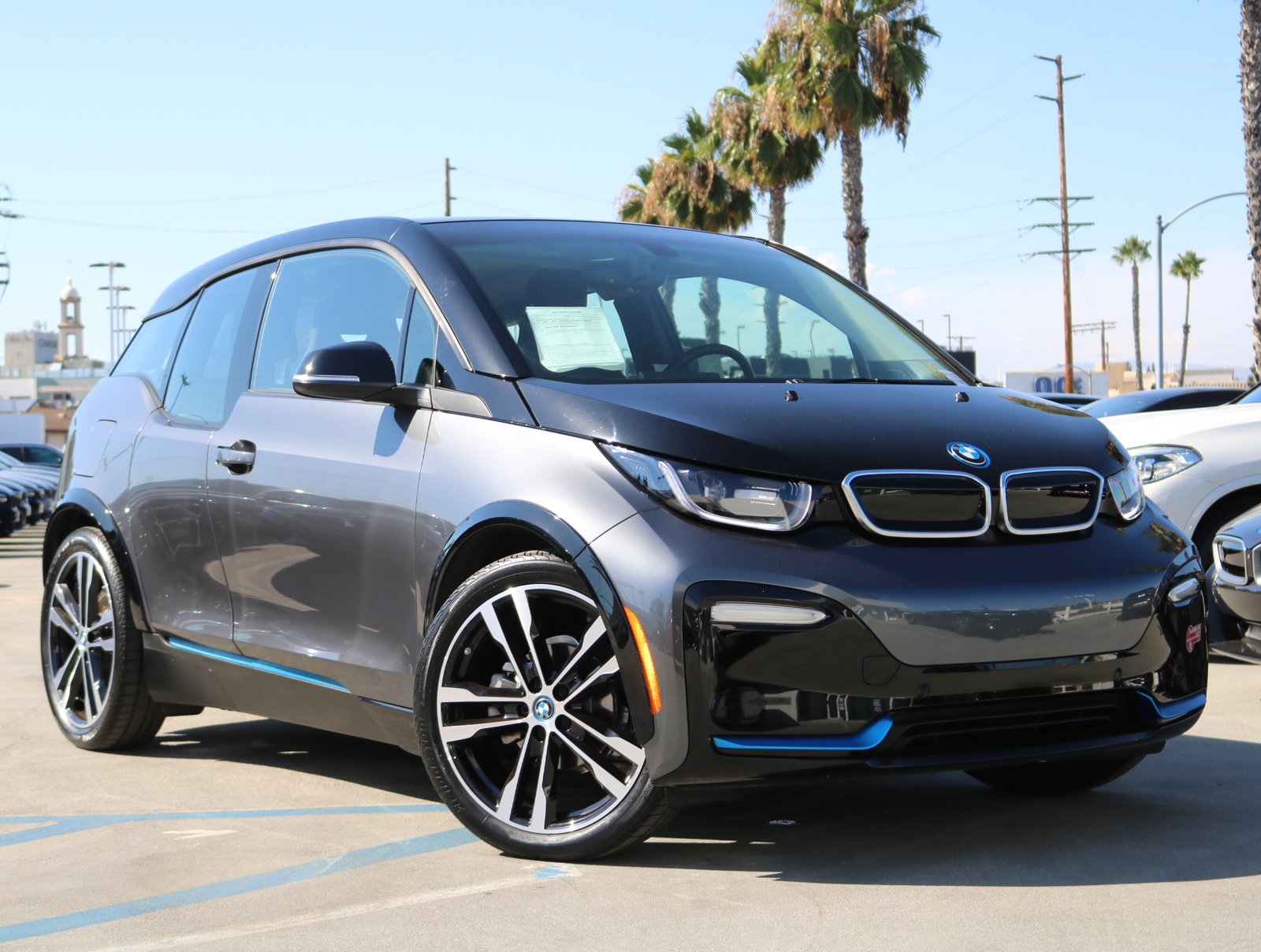 Certified Pre-Owned 2018 BMW i3 s Hatchback 4D