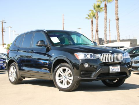 Certified Pre-Owned 2017 BMW X3 xDrive35i Sport Utility 4D