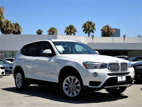 Certified Pre-Owned 2016 BMW X3 sDrive28i Sport Utility 4D