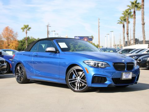 Pre-Owned 2019 BMW 2 Series M240i xDrive Convertible 2D