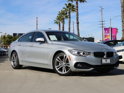Certified Pre-Owned 2017 BMW 4 Series 430i Gran Coupe 4D
