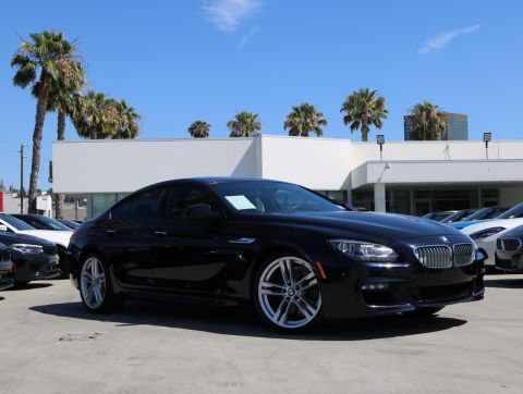 Certified Pre-Owned 2015 BMW 6 Series 650i