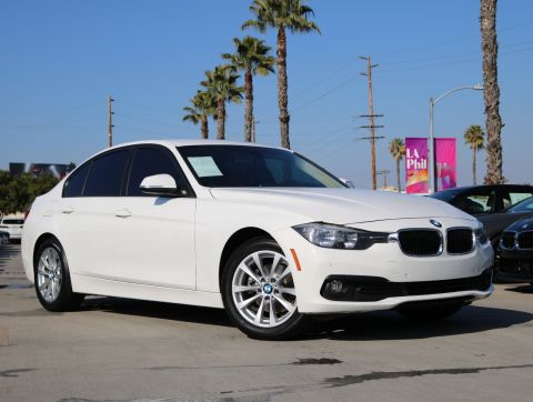 Certified Pre-Owned 2017 BMW 3 Series 320i Sedan 4D