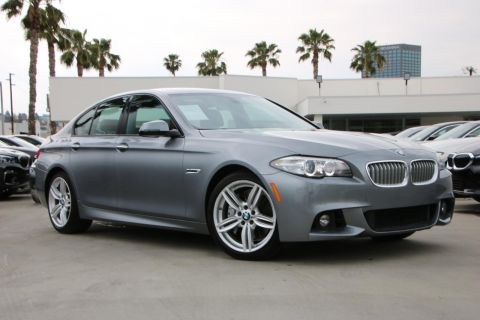 Certified Pre-Owned 2016 BMW 5 Series 550i Sedan 4D